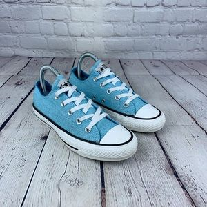 Converse All Star Blue Canvas Low Top